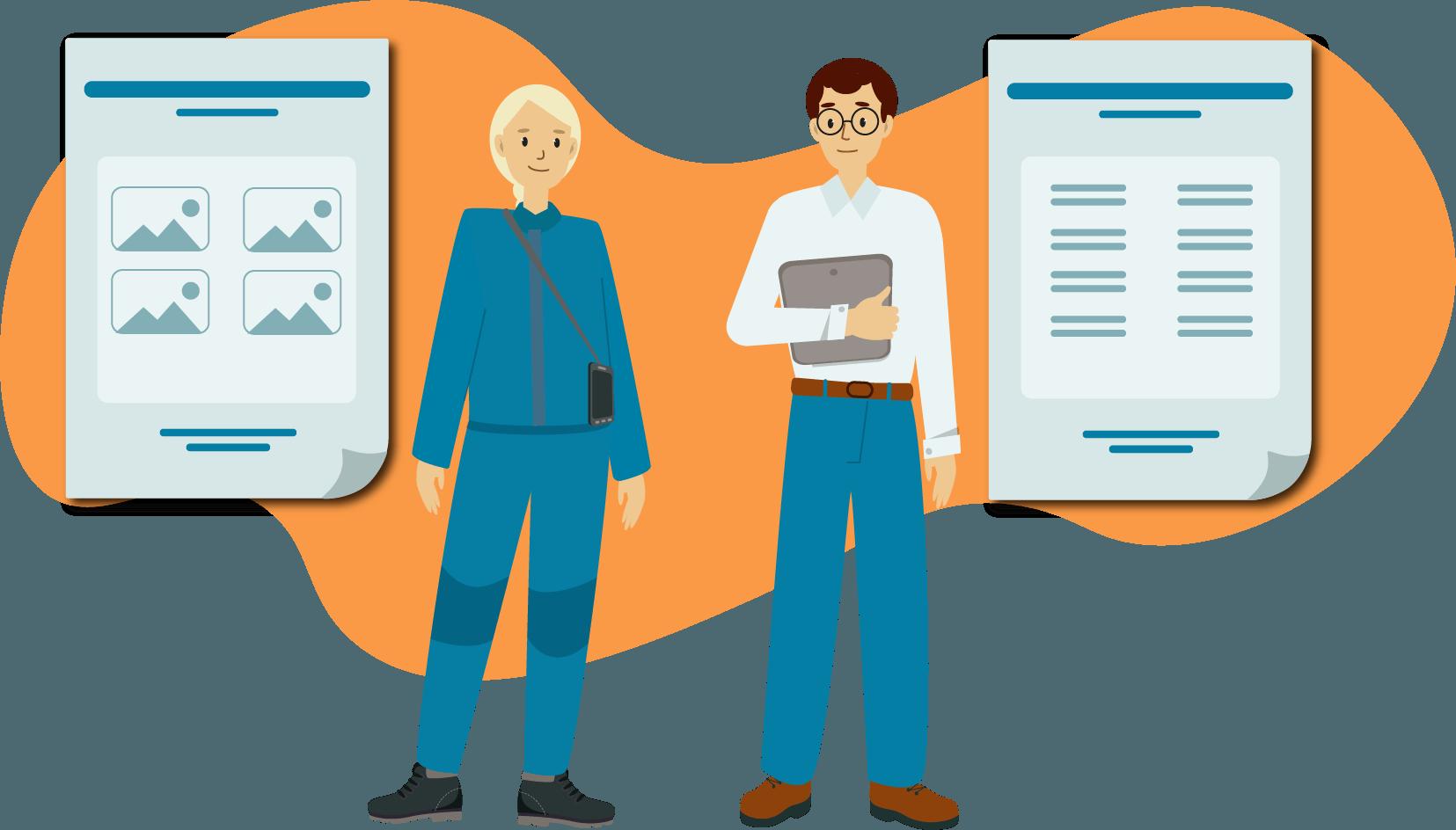 Dokumentations App KEVOX GO Einheitliches Layout Corporate design aller dokumentationen
