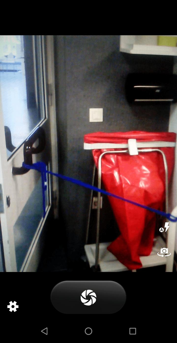 Tueroffenhaltung unzulaessig Mangel aufnahmen in der Brandschutz app Kevox go