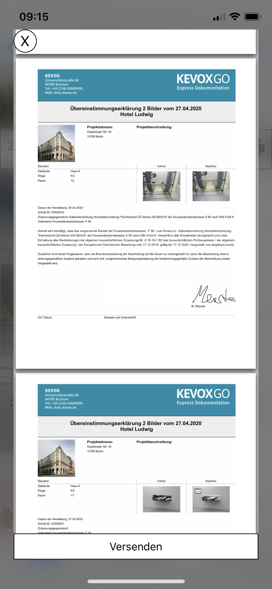 Abschottungen-Dokumentieren-uebereinstimmungserklaerung-handy